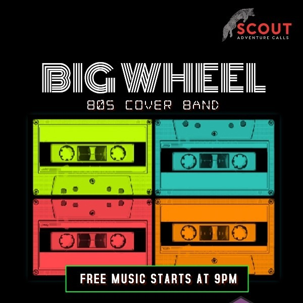 Mark your calendars for our return to Scout at The Statler - Friday, August 23!