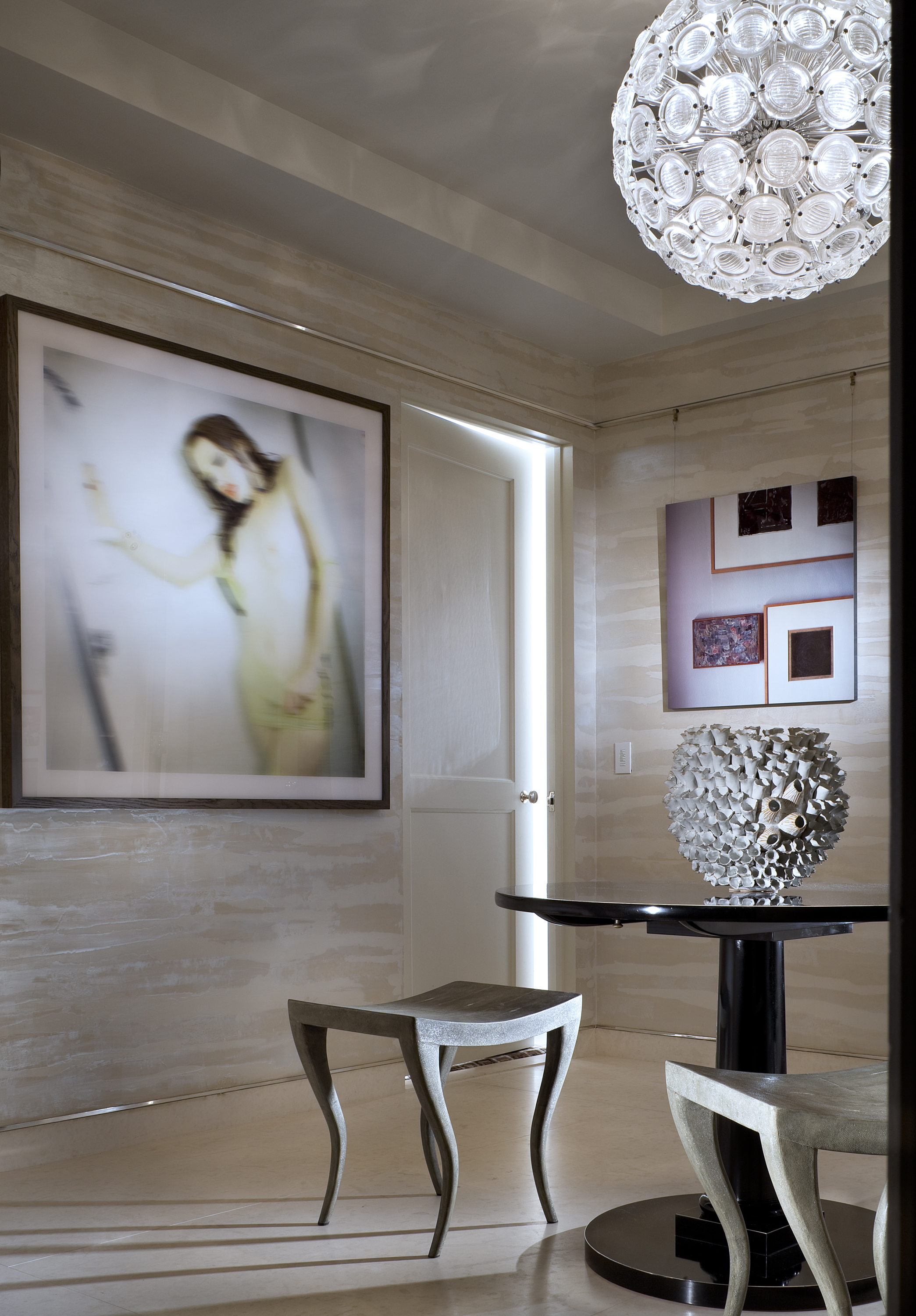 Project:  Park Avenue Apartment  in NYC // Photo: Courtesy of Rise Projects