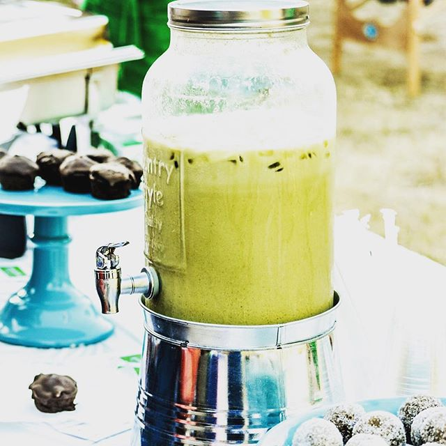 Got matcha!!! #saltedcaramel #matcha #rawalmondmilk #dates #gogreen #stayhealthy #greentea