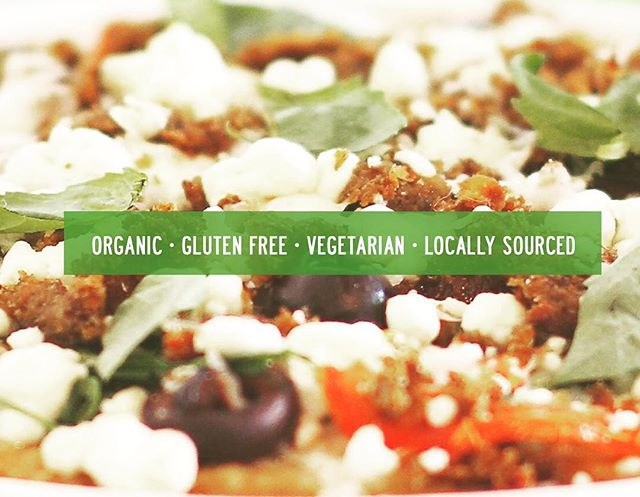 Simply us - Green Table #organic #glutenfree #vegetarian #locallysourced #eatclean #stayhealthy #veggipizza #cauliflowercrust