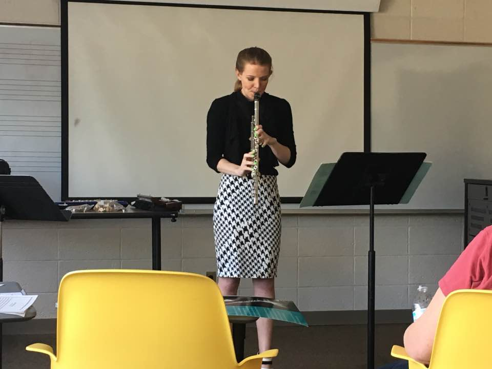 Stacey Russell, flute