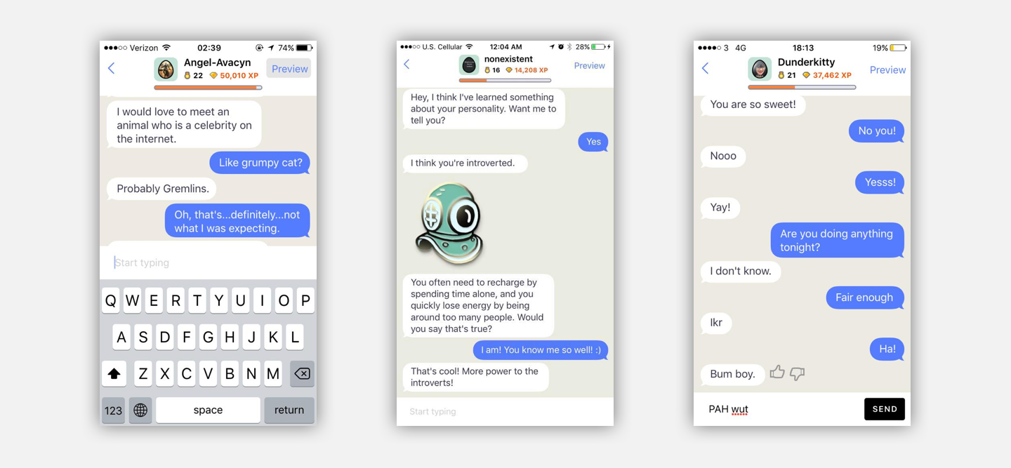 Imagine a future where Replika isn't relegated to a texting relationship. What if it becomes part of your environment. Imagine true conversations that can affect your environment.