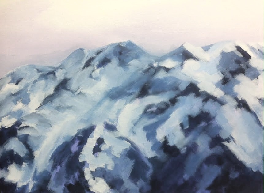 "Mount Currie. Acrylic on canvas. 18x24"". 2016. *sold"
