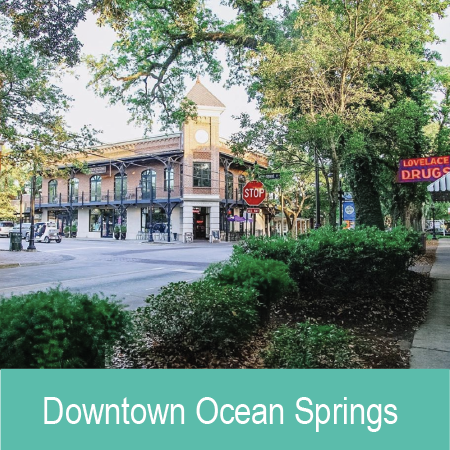 "- Deemed the ""City of Discovery,"" Ocean Springs is a coastal gem focused on art, food and community."