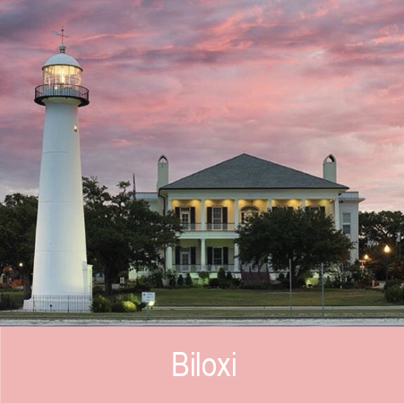"- Previously known as the ""Seafood Capital of the World,"" Biloxi offers vitality and relaxation with it's many restaurants, beachfronts, casinos, and unique museums.Picture Credit: Alex North"