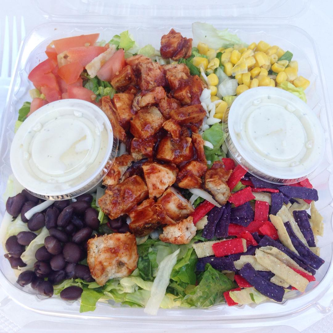 Southwest Taco Salad  | Marla's Lunch