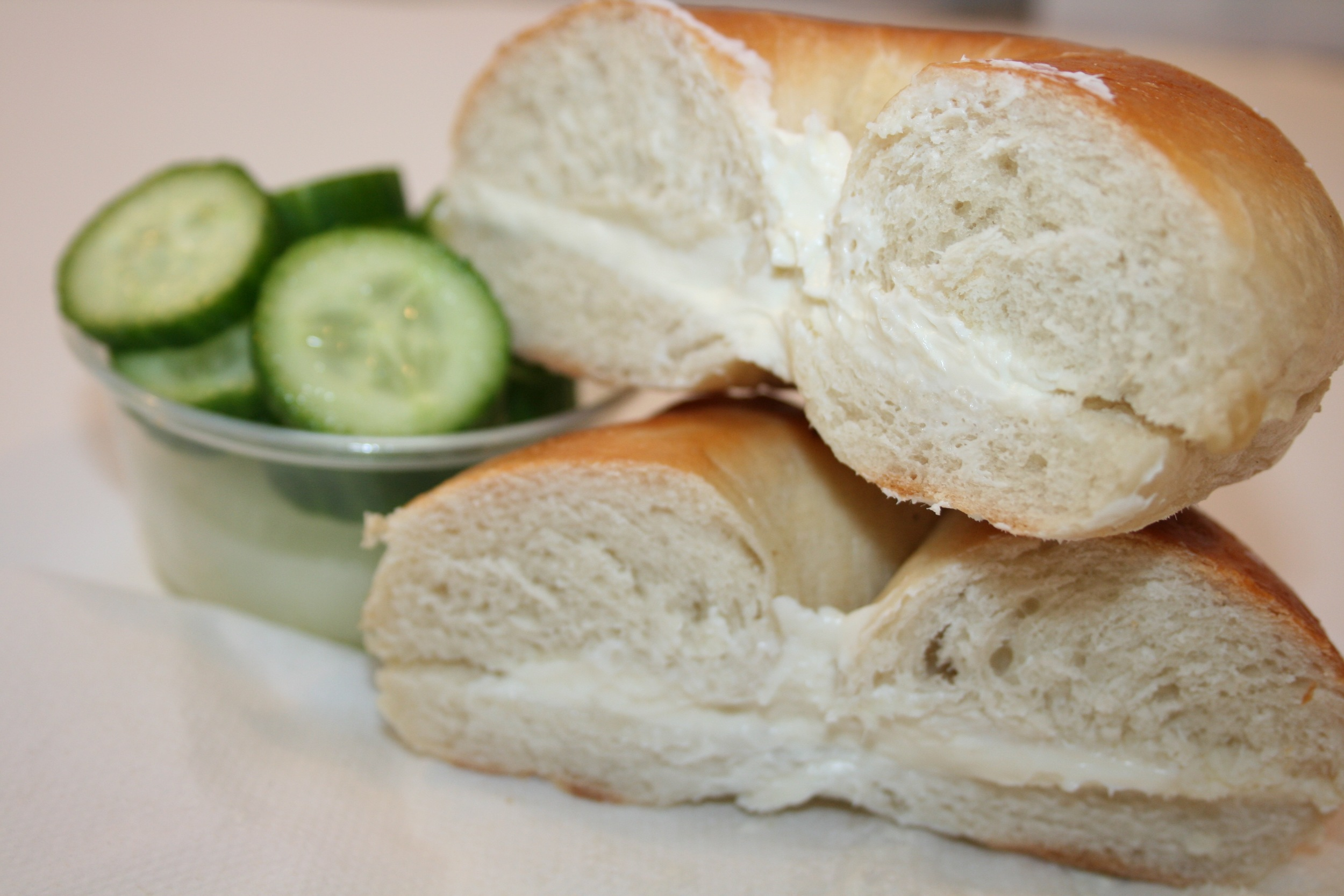 Bagel & Cream Cheese | Marla's Lunch