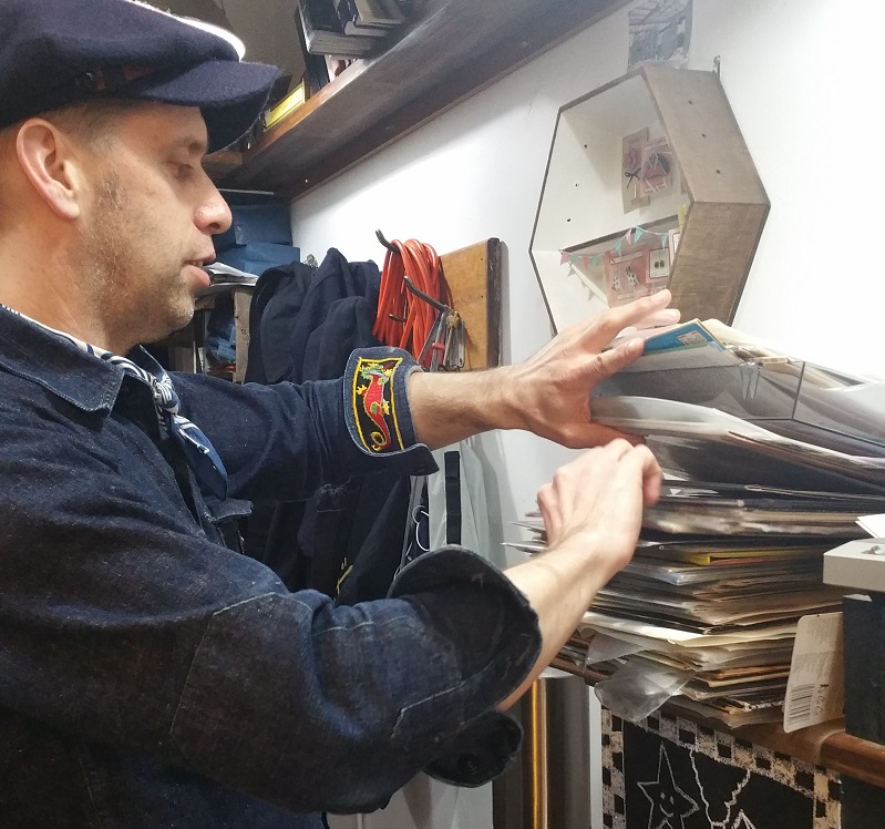 From Tom Waits to Beastie Boys, Sam is trusted custodian of hundreds of vinyl records. Ask him a question, any question about any of the albums spinning and he'll give you the answer and more!