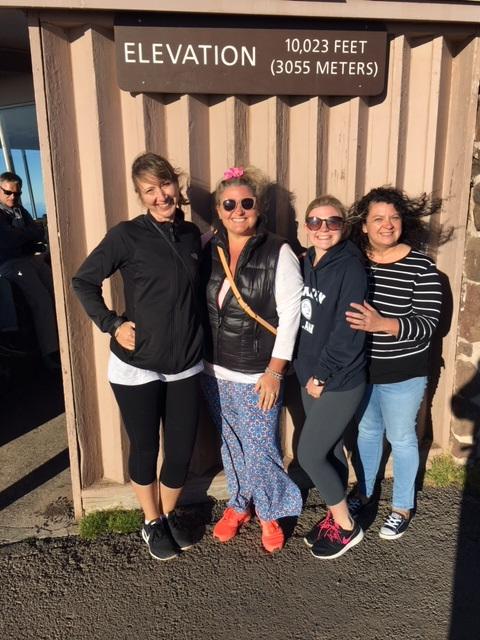 Some of the Wellbeing Natural Health Group team at Maui, climbing volcanoes!