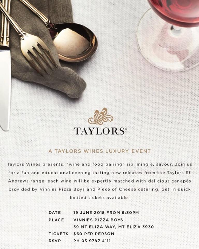 Taylors event Vinnies Boys Pizza 19 June.jpg