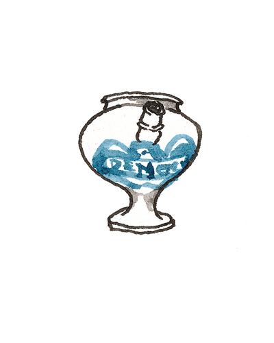 London, England   Apothecary Jar, 1670-1700  Tin-glazed earthenware, 1964.31