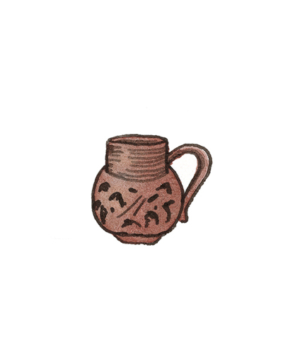 Possibly Thomas Morley of Nottingham or Crich, Derbyshire, England   Mug, ca. 1700  Salt-glazed stoneware, 1964.43