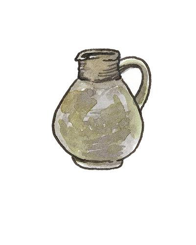 North Devon, England   Jug, 1670-1780  Incised earthenware, 2005.11