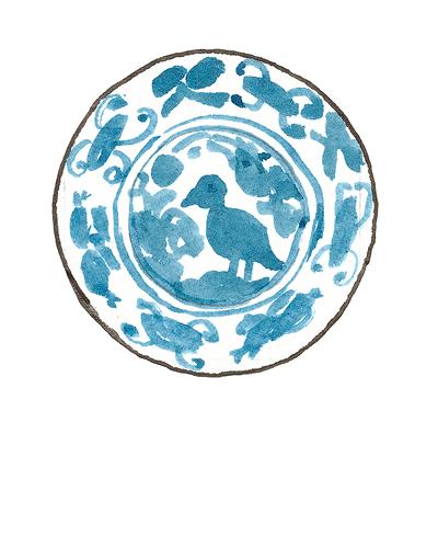 Portugal   Dish, ca. 1670  Tin-glazed earthenware, 2013.1
