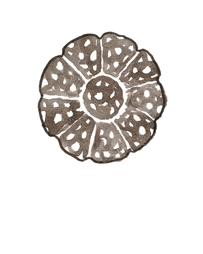 London, England   Dish, 1680-1690  Tin-glazed earthenware, 2015.3