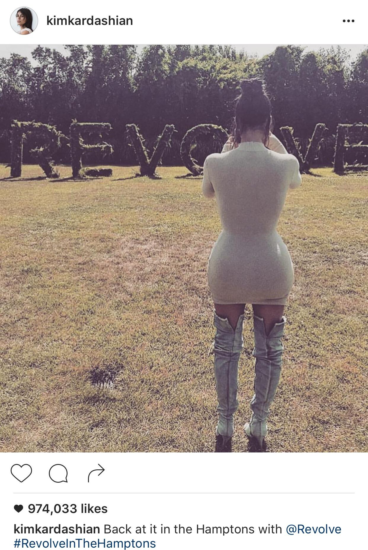 Photo courtesy of Kim Kardashian via Instagram