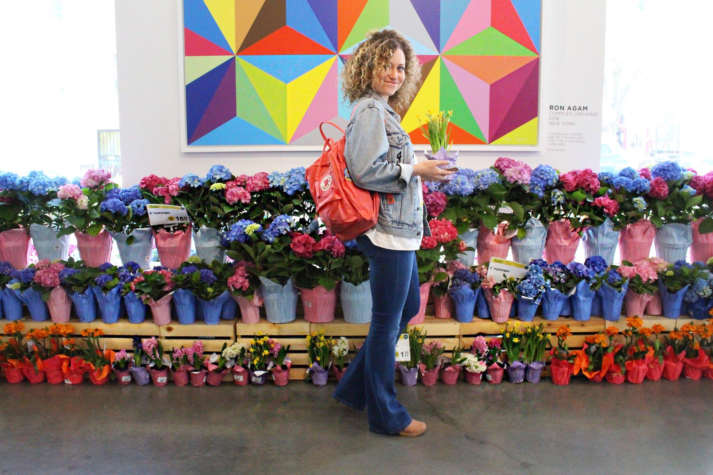 Jen Inside Whole Foods Market Williamsburg, Brooklyn