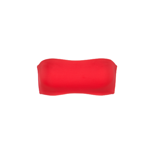 The Bandeau Top in Tomato Red.png
