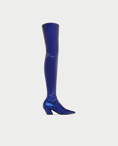 Zara OTK Boots, $100