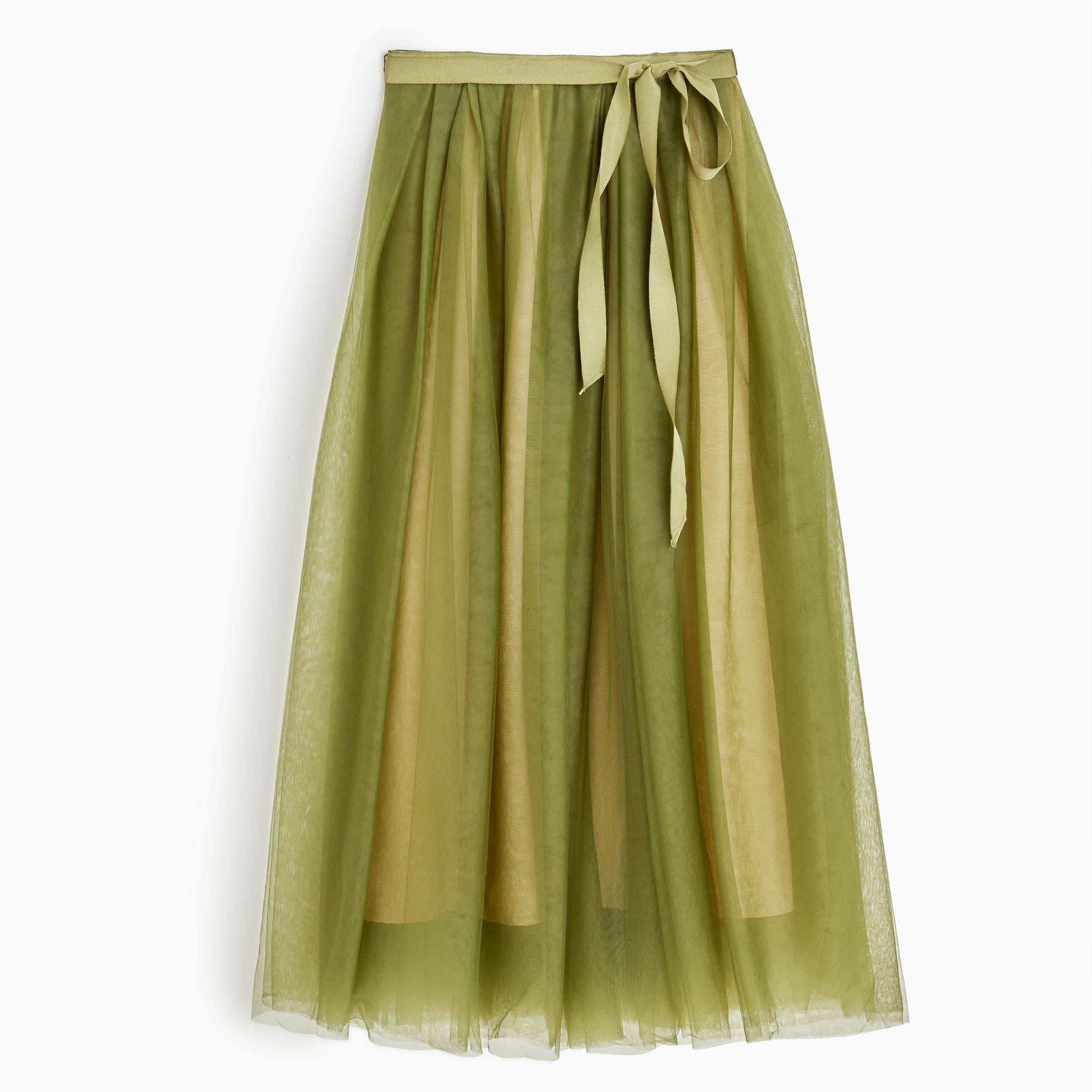J. Crew Tulle Skirt, $160
