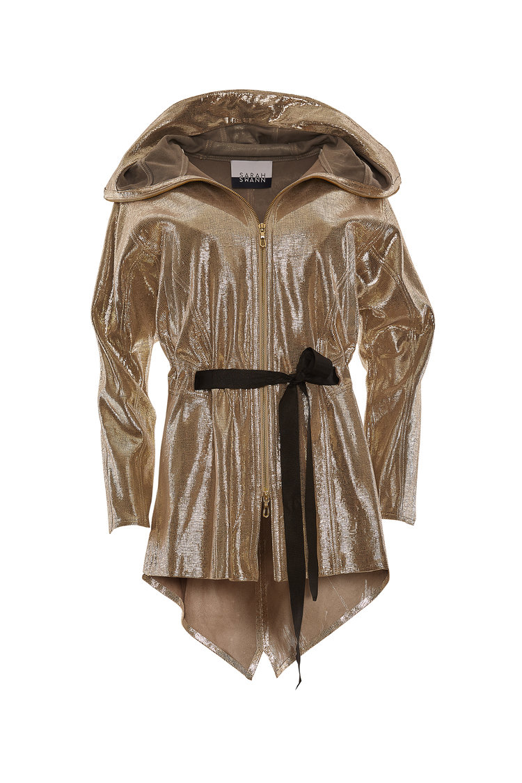 Sarah Swann Metallic Jacket, $1,050