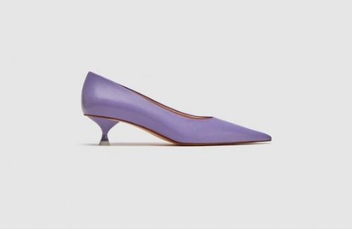 Zara Purple Heels