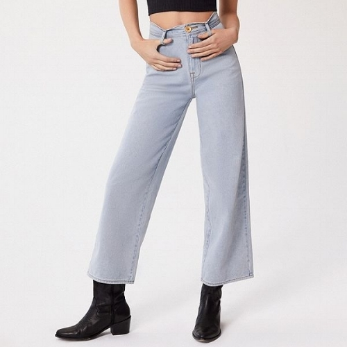 Urban Outfitters BDG High + Wide Cropped Jean, $64