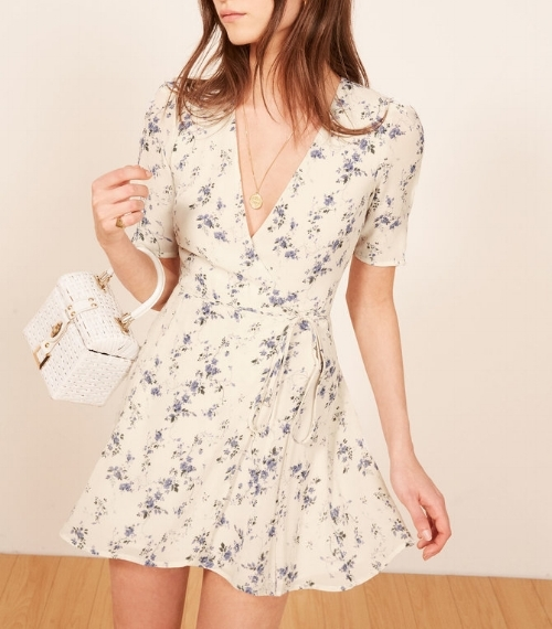 Reformation Lucky Dress, $198