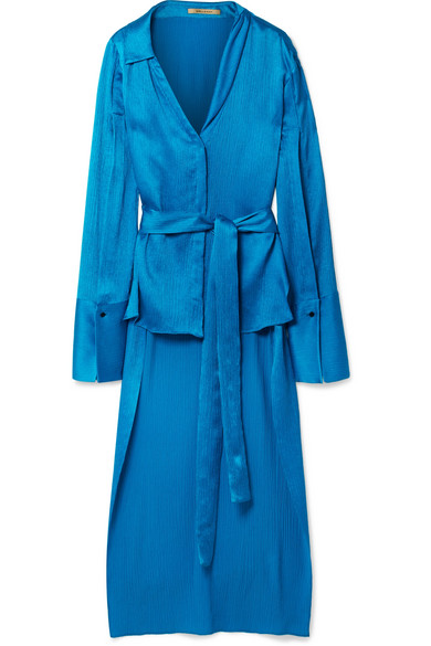 Hellessy Silk-Satin Blouse, $1,180