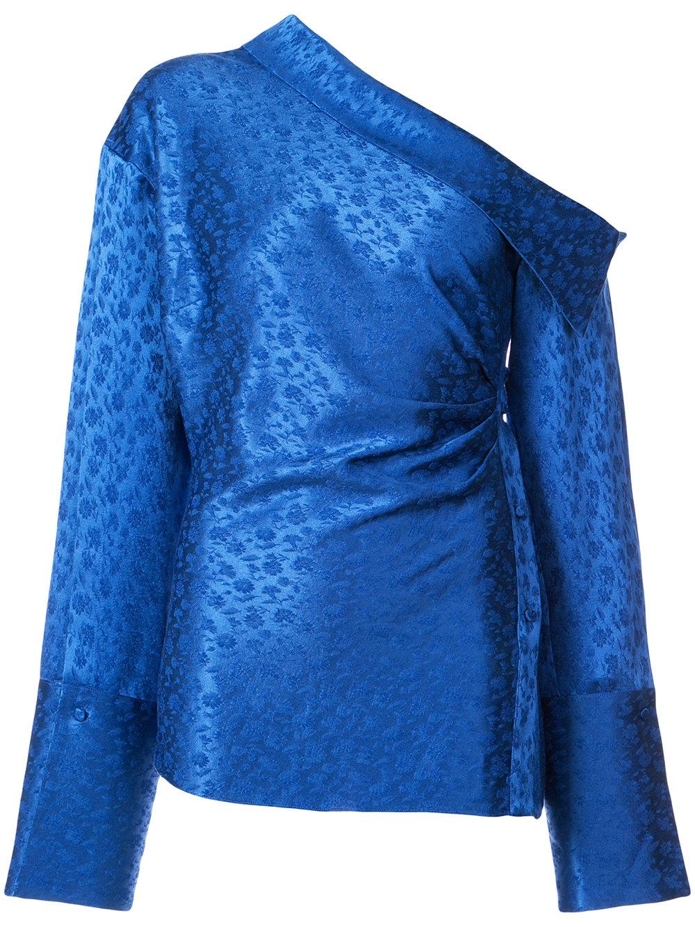 Hellessy One Shoulder Shirt, $980