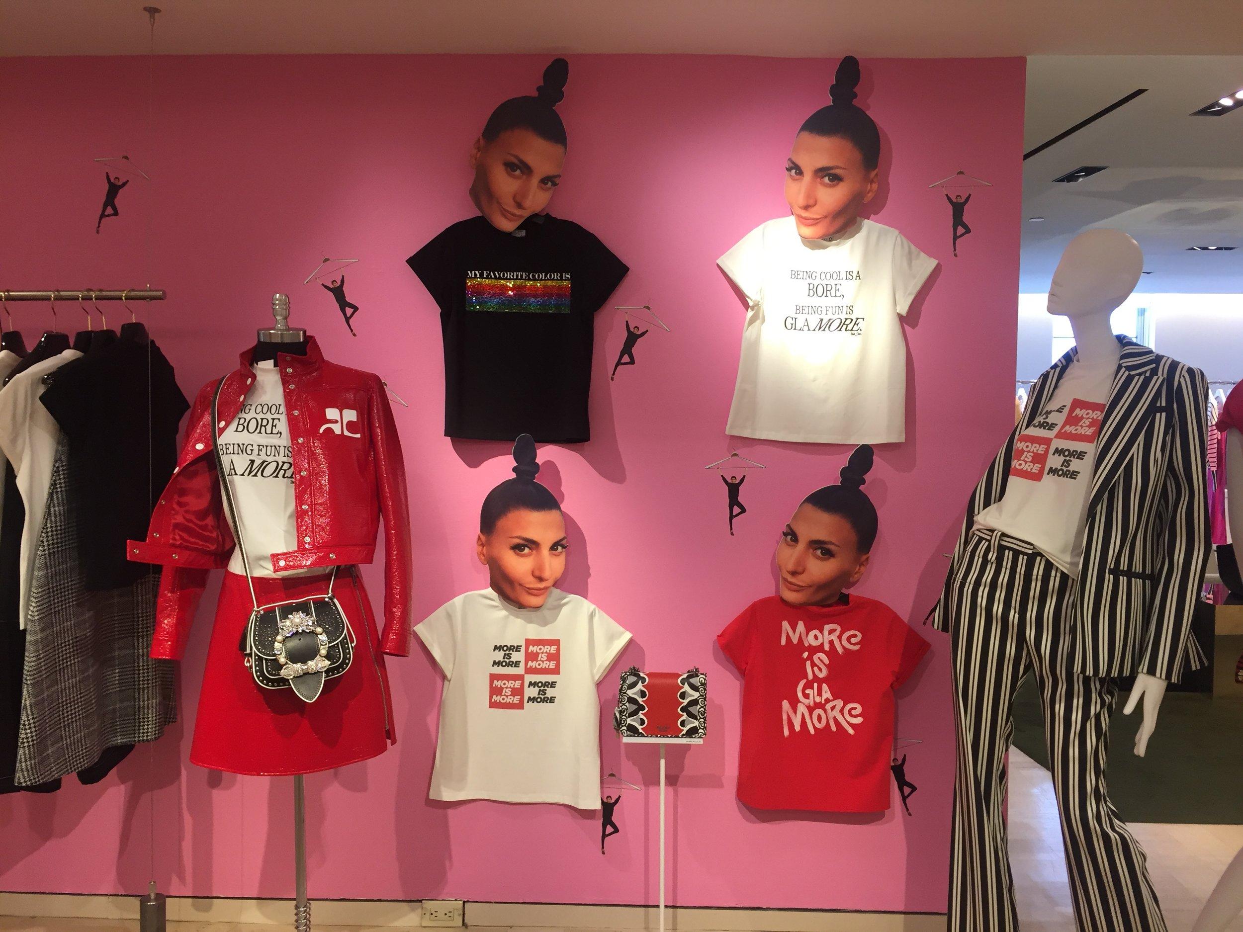 Giovanna Battaglia's T-Shirt Line, My Favorite Color is Shopping