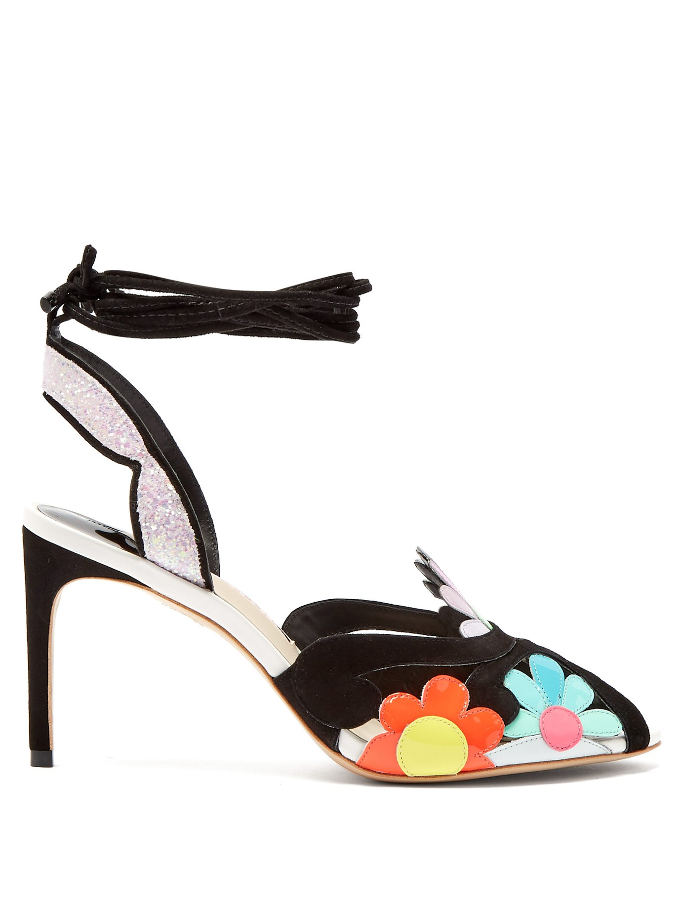 Sophia Webster Frida floral-embellished sandals