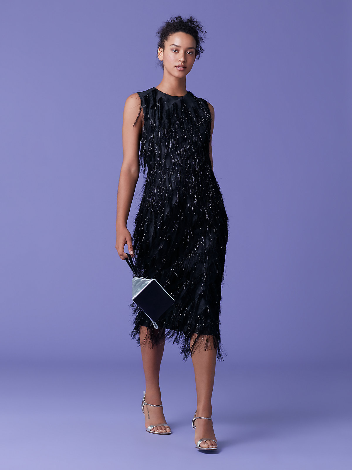 DVF Nadi Fringe Dress