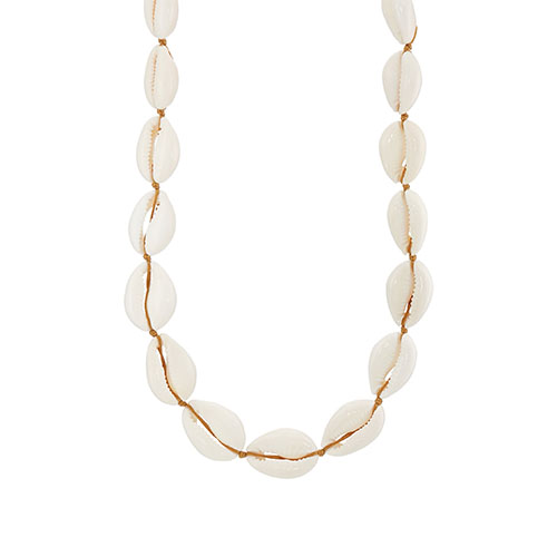 Tohum Design Natural Large Puka Shell Necklace shell jewelry.jpg
