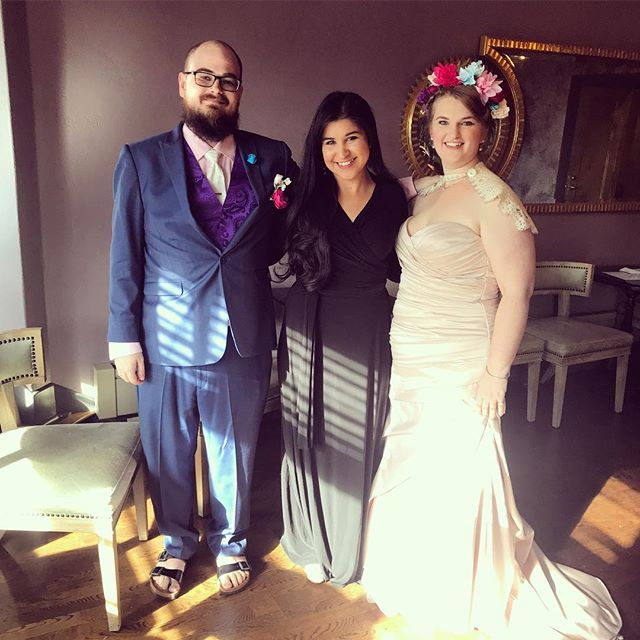 What an awesome way to start my wedding season, with these two colorful, thoughtful and expressive newlyweds! Congratulations!
