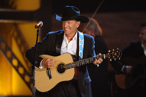 """4. George Strait:  George Strait had his final tour in 2014. He decided to retire from the touring world. His last show held a crowd of over  104 000 people.The largest crowd for a single concert in the US. He is known for his hit songs; """"I Cross My Heart"""" and """"Check Yes Or No"""" to name a few.He sold more than 100 million records throughout his career, and has had 60 #1 hit singles. He sits at #4 on our list with a net worth of $300 million."""
