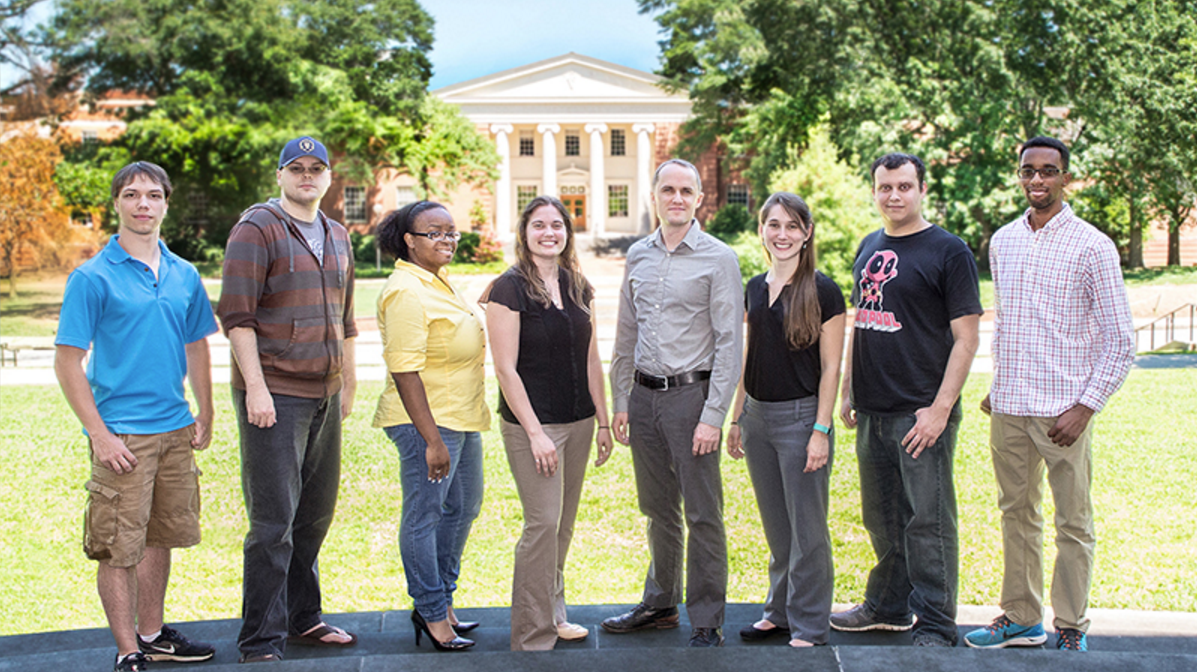 Current Interns and Graduate Assistants at the ERC  Photo by Chris Herron