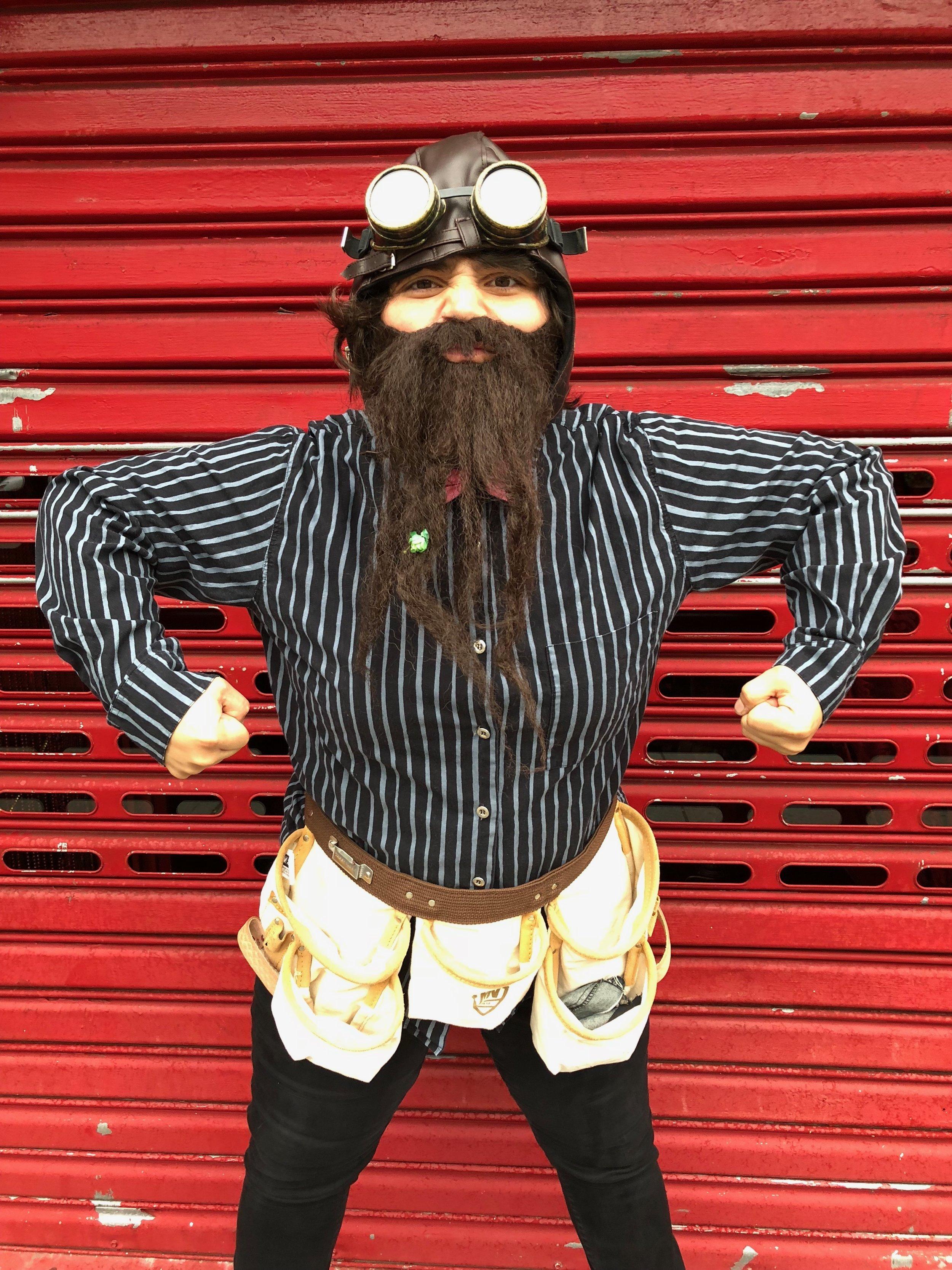 Rhonda Rocket -Bearded Lady --Accomplice The Show.JPG