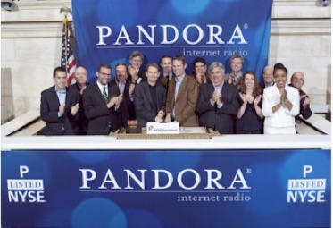 Pandora IPO June 2011 by Morgan Stanley, JP Morgan, Citi, William Blair, Stifel Nicolaus Wiesel, and Wells Fargo.jpg