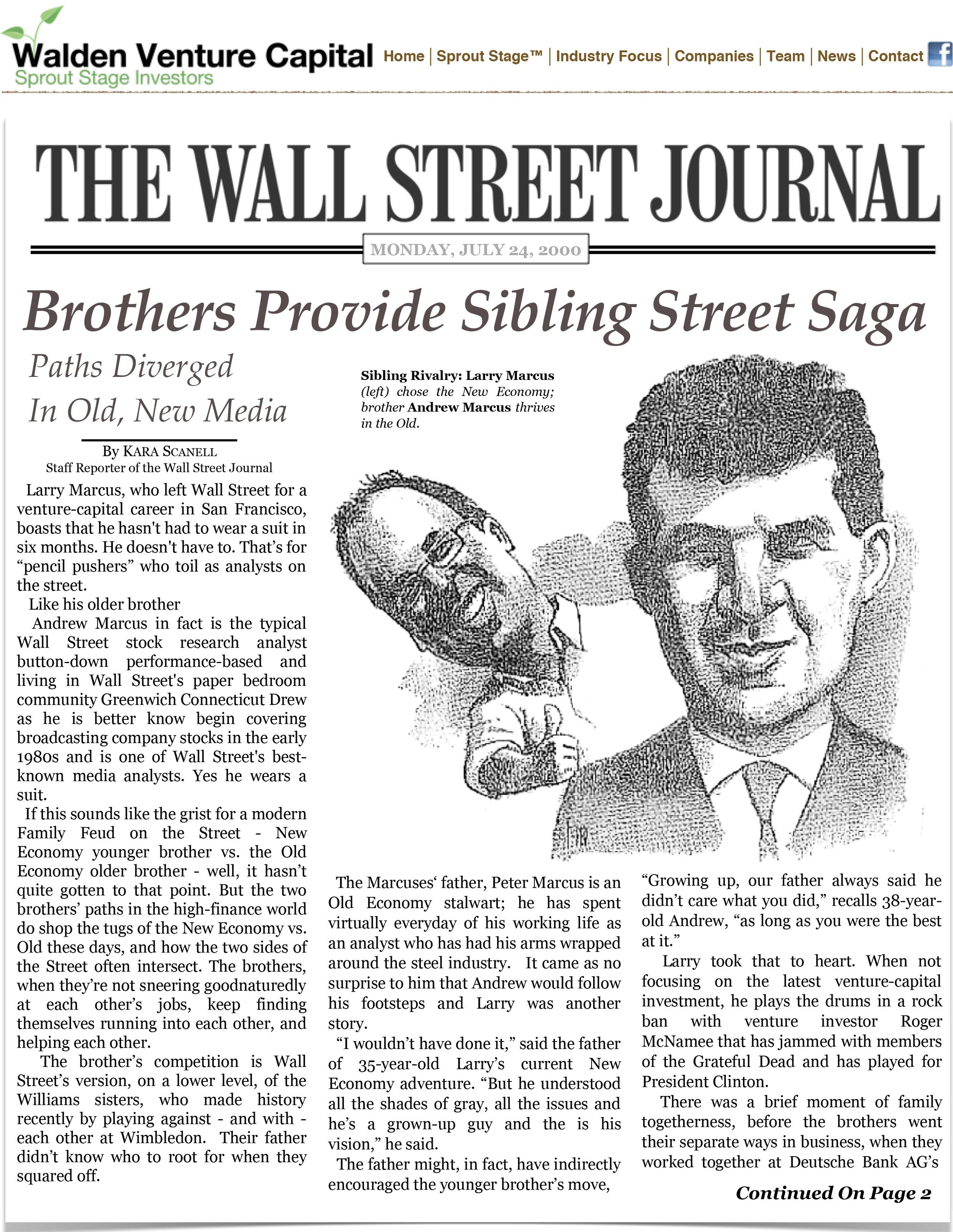 Brothers Provide Sibling Street Saga