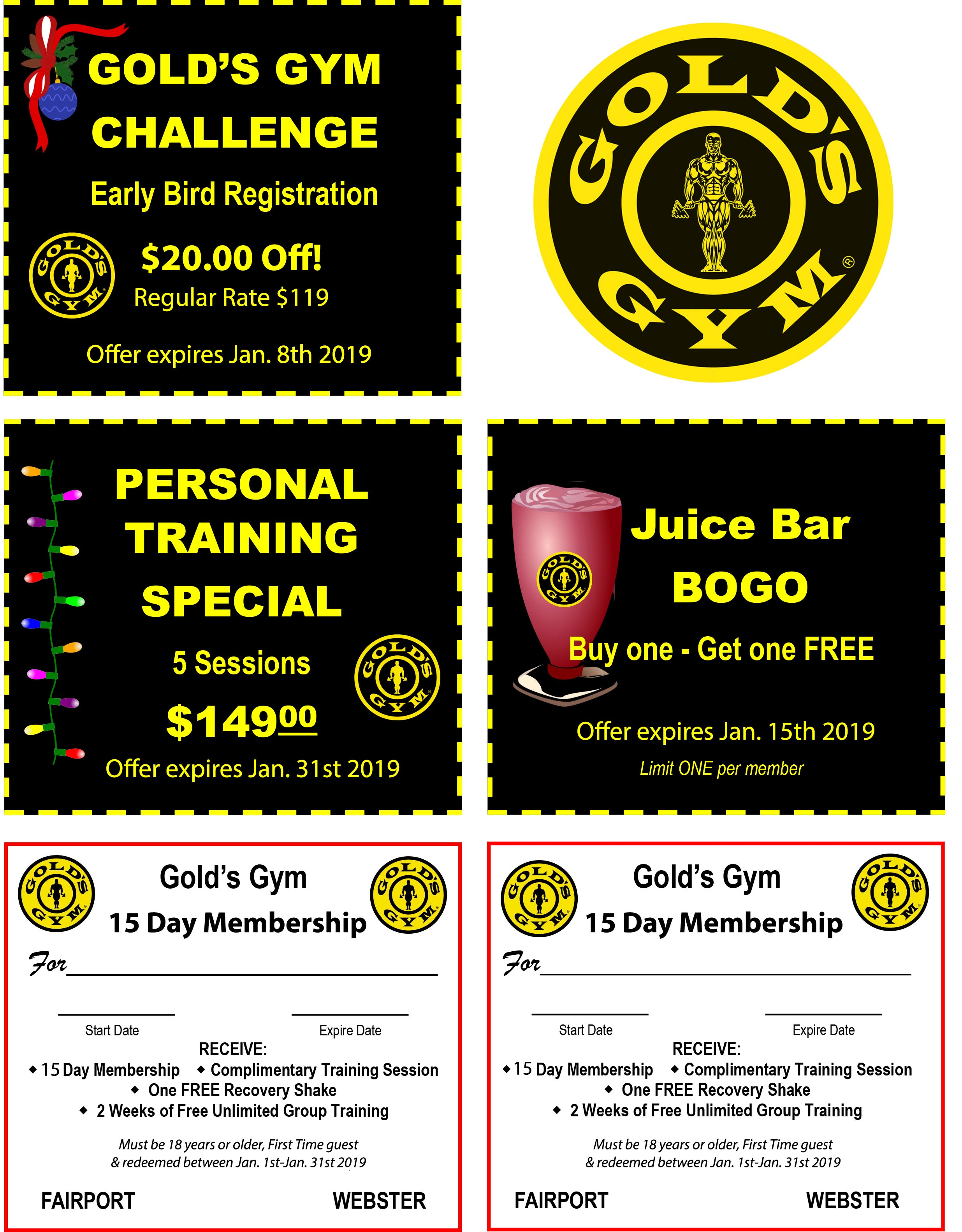 These are digital coupons. You can either show your phone at the club or print them out and use.