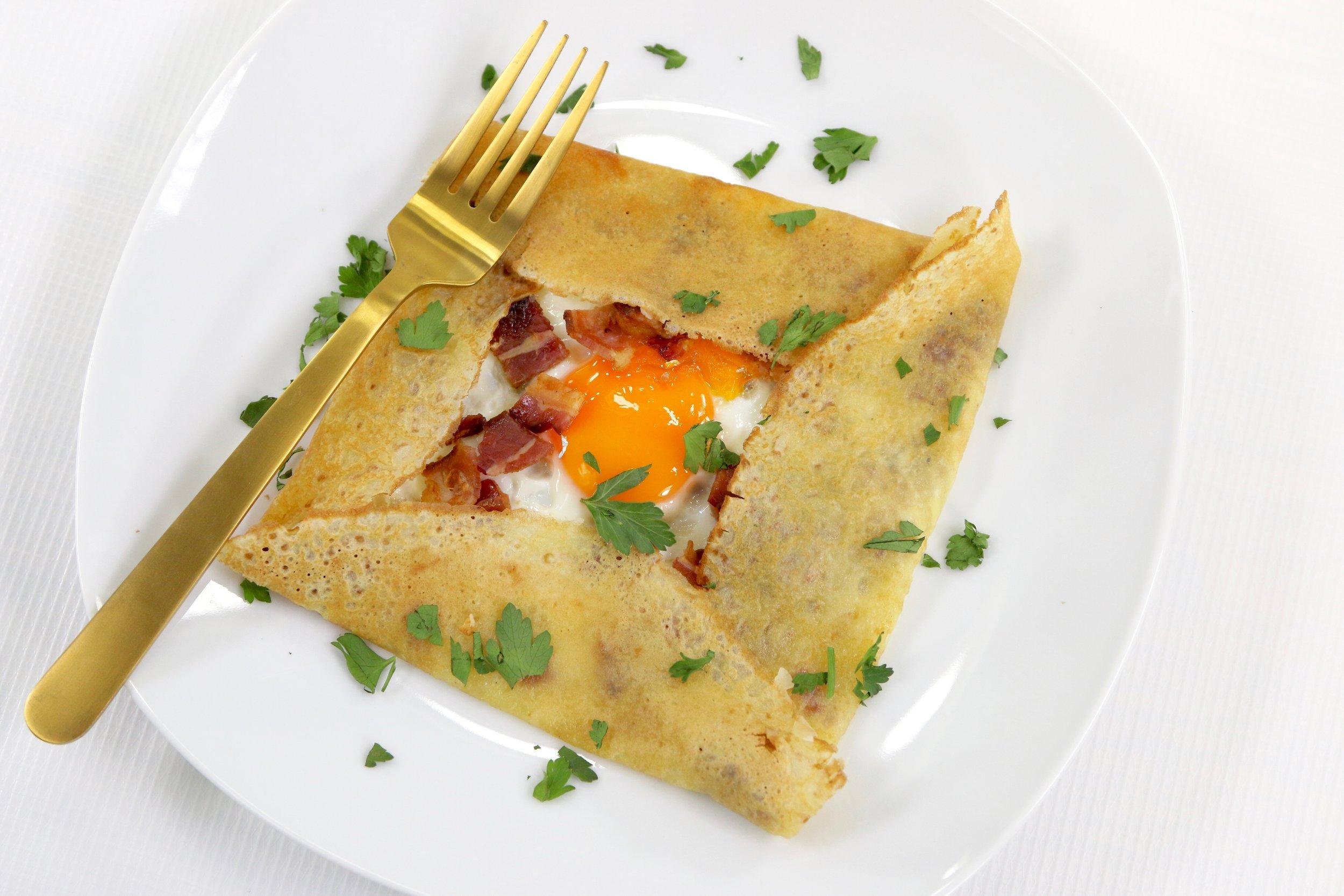 breakfast crepe photo