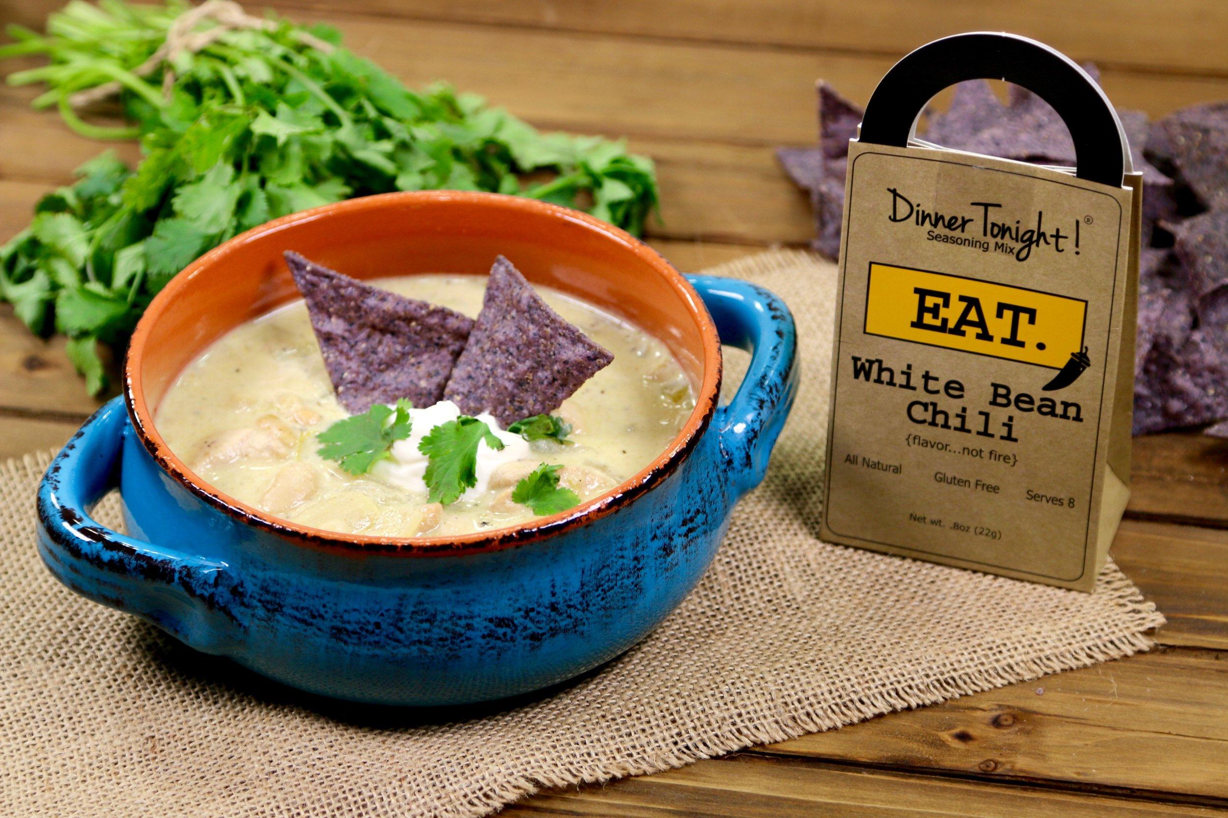 White Bean Chili Recipe & Video -