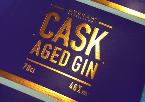 Cask Aged Gin Labels