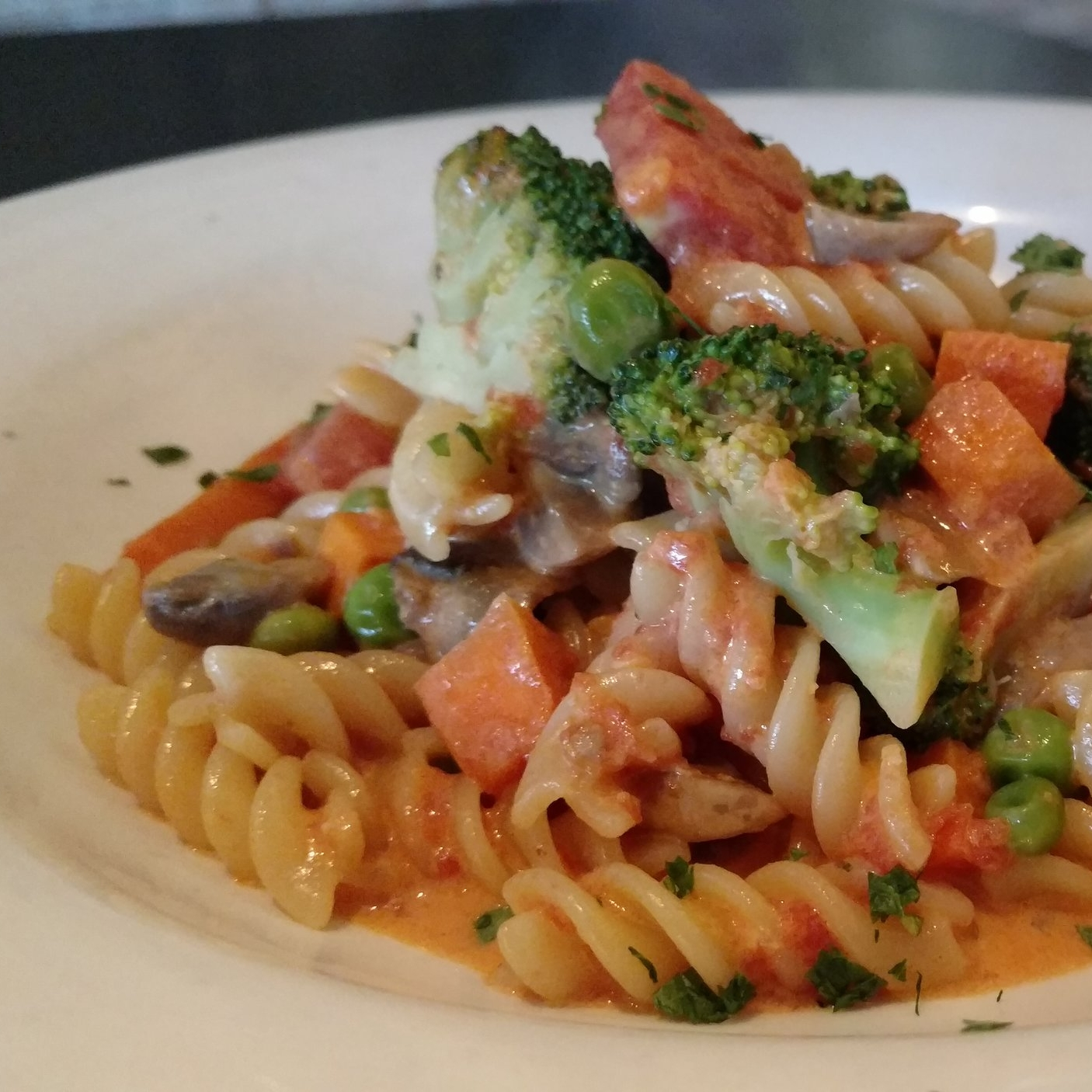Fusilli Vegetables