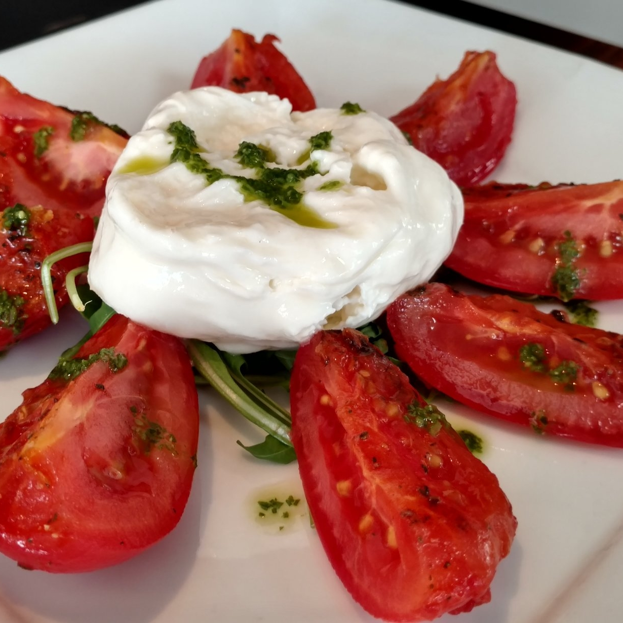 Burrata Appetizer