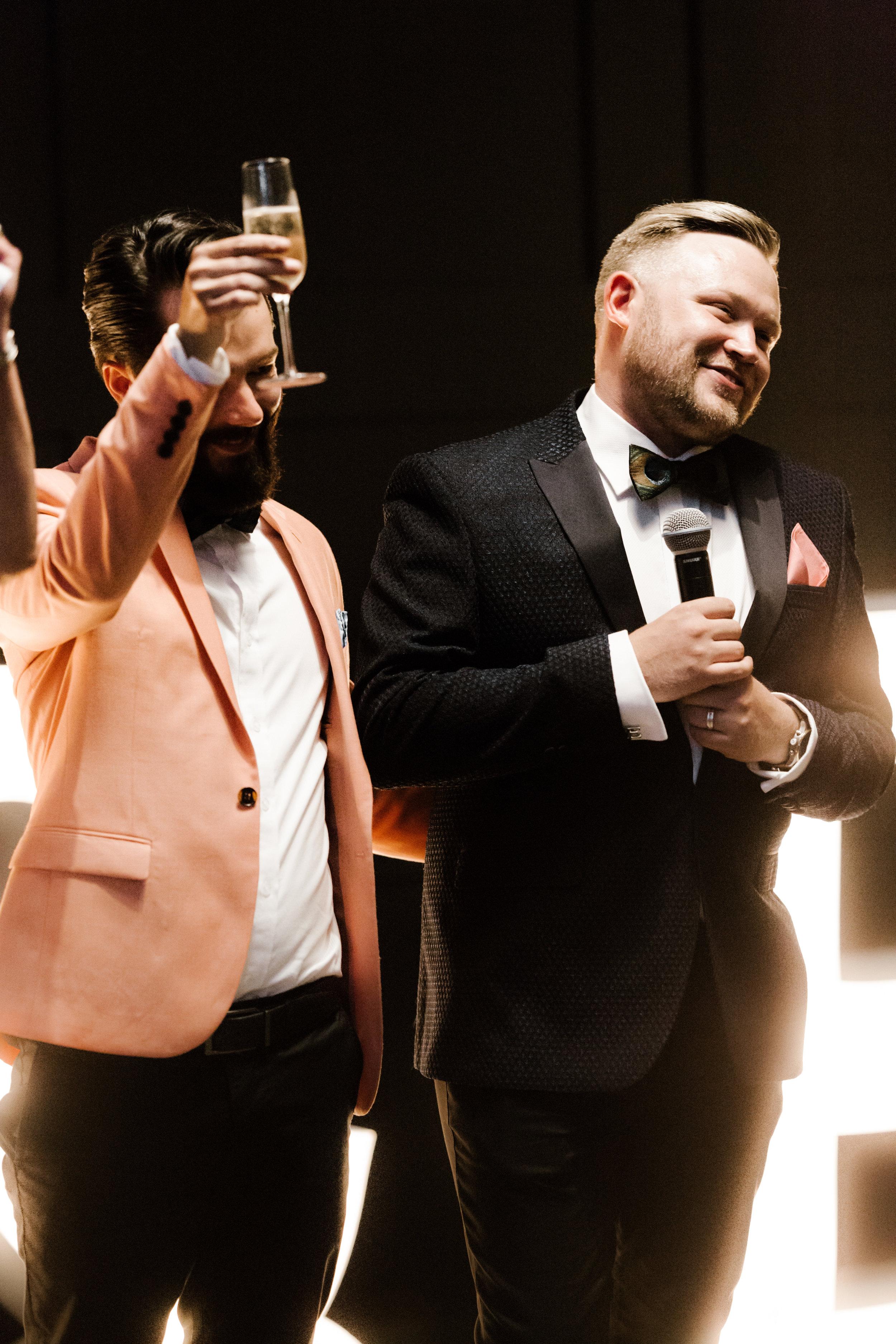 Adam+Eddie - Melbourne Same-Sex Engagement - Alto Event Space - Photographer: Dave Lepage
