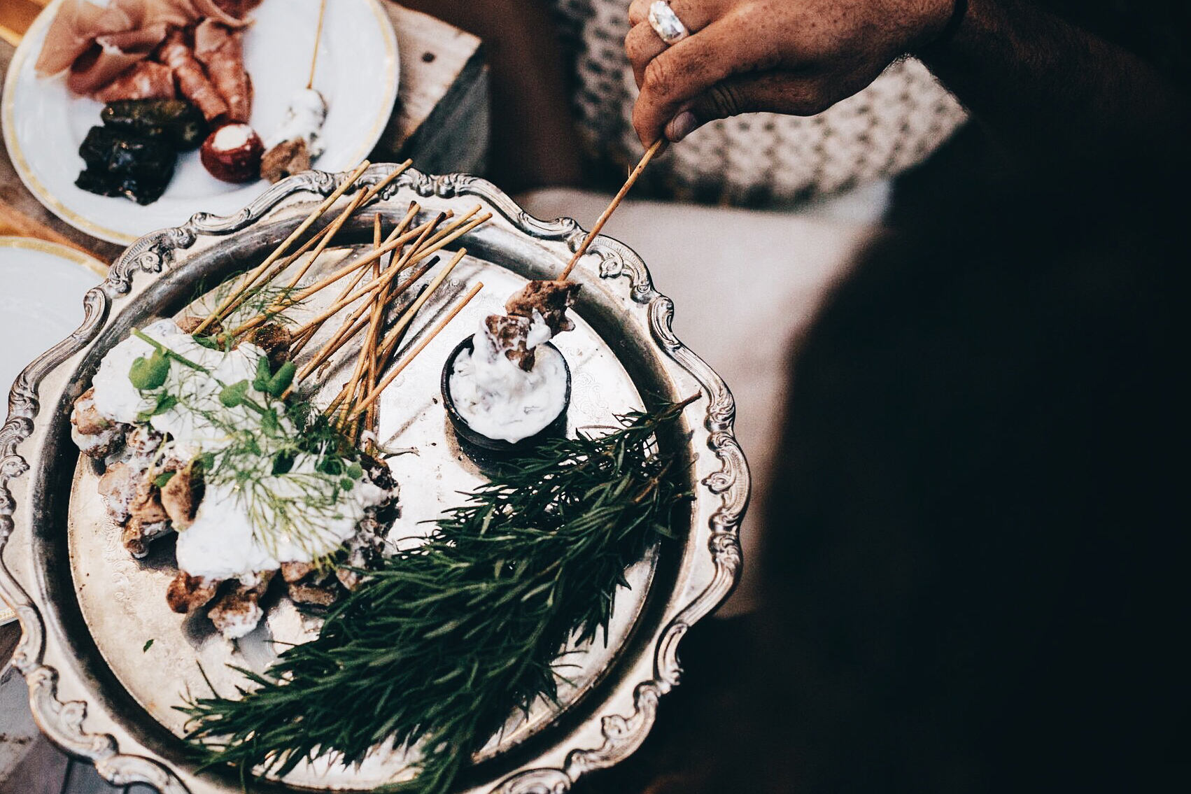 Spoon Fed Catering - Utilising only the highest of quality seasonal produce, you are guaranteed a Fine Dining experience of flavours and presentation. They do Grazing Stations, Alfresco, Shared Platters, Desserts and more.