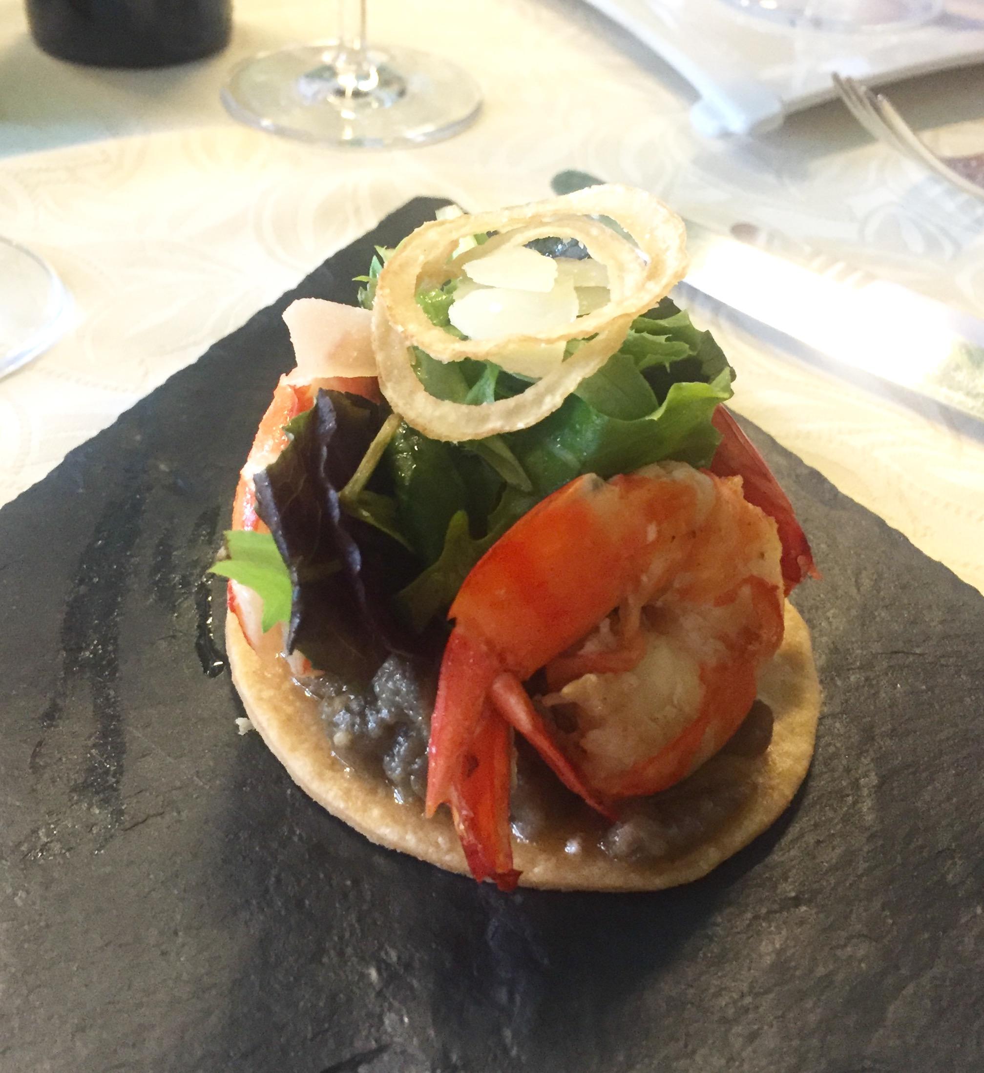 The amazing  La Belle Etoile  restaurant in La Roque-Gageac