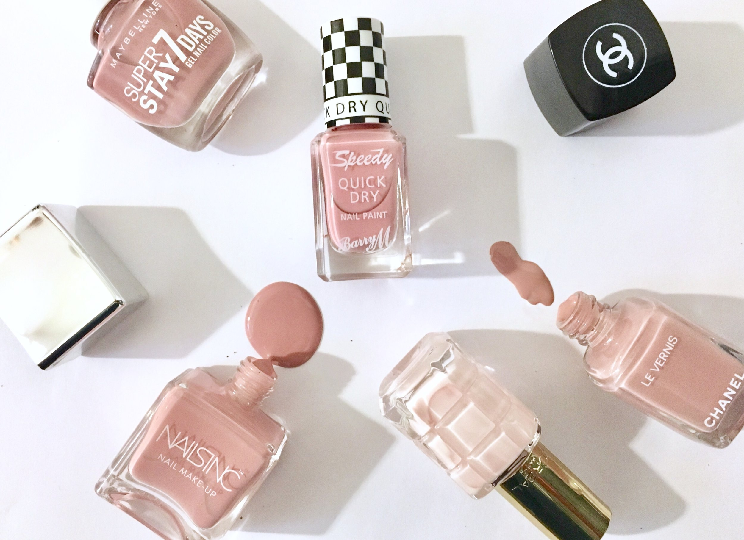 SPRINGS SOFT PINK NAIL TREND - The Grown up Edit